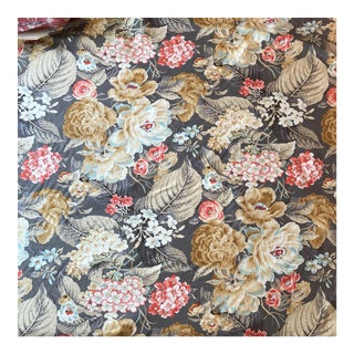 Waverly Blossoms Careen Print Fabric - 1 Yard For Sale