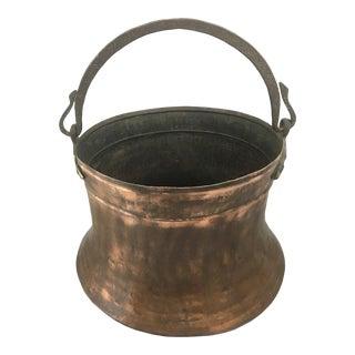 Vintage Copper Pail For Sale