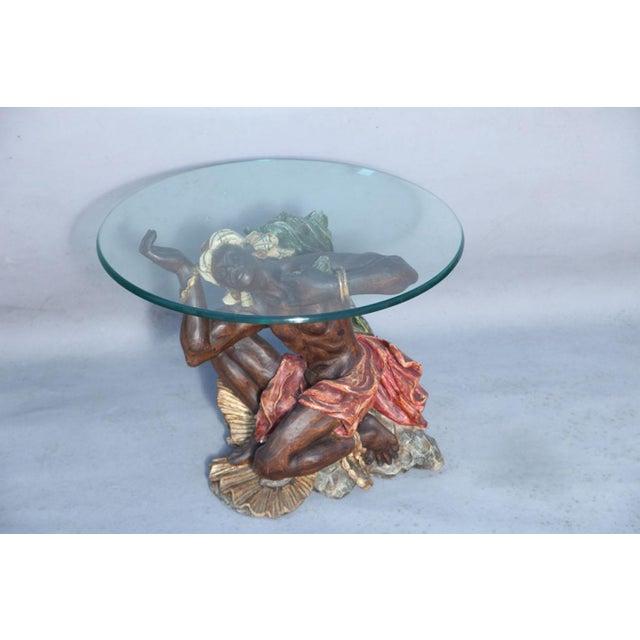 Figurative Ithophallic Blackamoor Table For Sale - Image 3 of 10