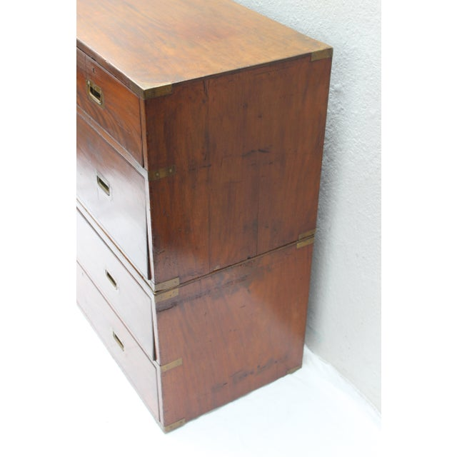 19th Century English Campaign Chest For Sale - Image 12 of 13