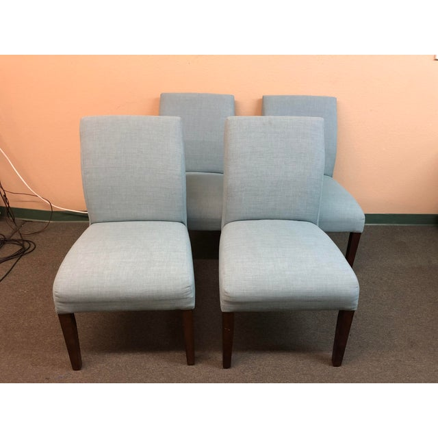 Wood Ballard Contemporary Dining Chairs - Set of 6 For Sale - Image 7 of 13