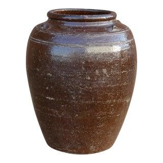 Handsome Mandalay Martaban Jar For Sale