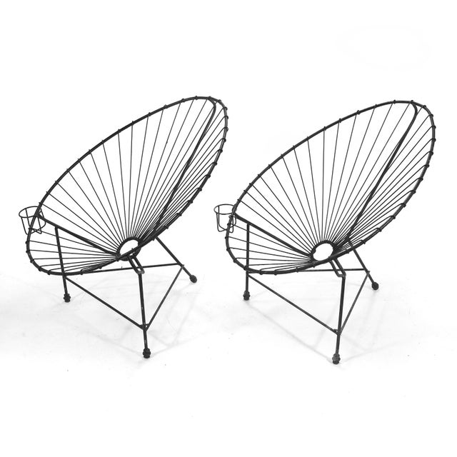 Pair of Acapulco Chairs For Sale - Image 4 of 11