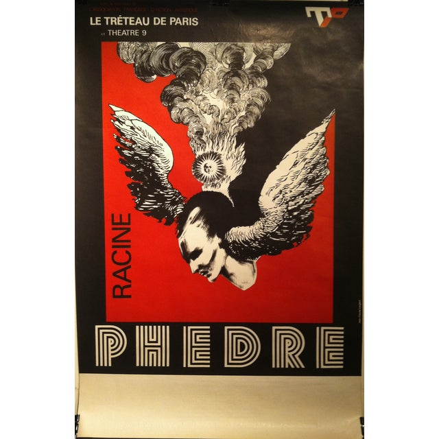 """Racine's """"Phèdre"""" French Lithograph by Lenglart - Image 1 of 10"""