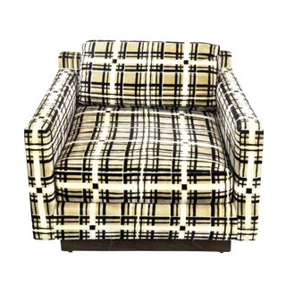 Armstrong Furniture Co. Modern Cube Chair