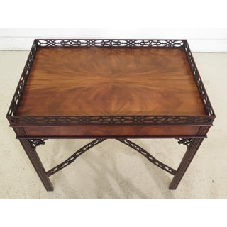 Chippendale Baker Collector's Edition Mahogany Tea Table Preview
