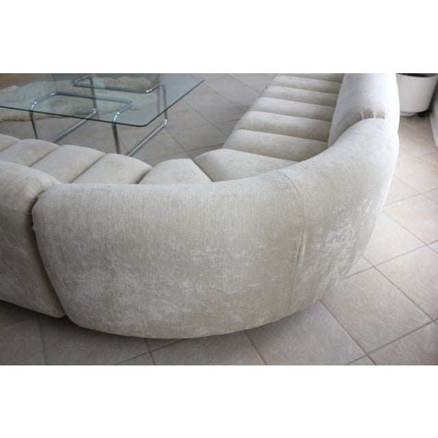 1970s Vladimir Kagan Attributed Directional Sectional Sofa For Sale - Image 5 of 13