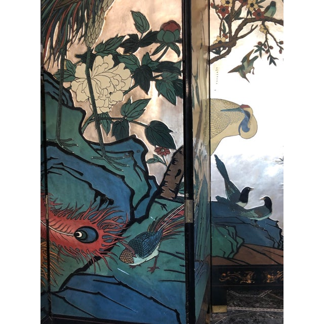 Early 20th Century 8-Panel Coromandel Screen For Sale - Image 9 of 13