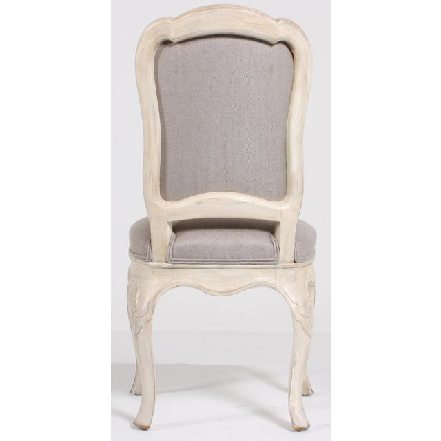 Swedish Baroque Side Chairs - A Pair - Image 8 of 9
