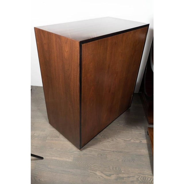 Wood Sophisticated Mid-Century High Chest by Robsjohn-Gibbings for Widdicomb Company For Sale - Image 7 of 8