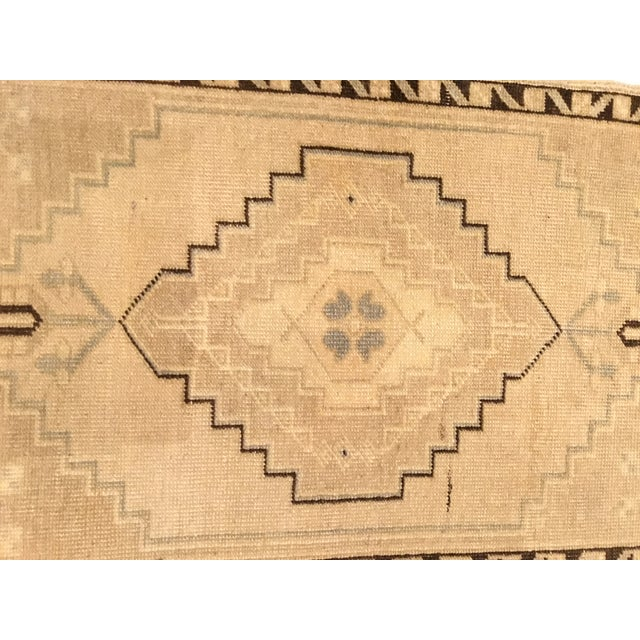 Islamic Small Vintage Turkish Hand Knotted Rug - 1′8″ × 2′10″ For Sale - Image 3 of 5