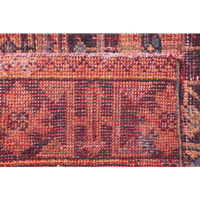 """1960s 1960's Vintage Turkish Hand-Knotted Wide Runner Rug - 4'1"""" X 11'5"""" For Sale - Image 5 of 11"""