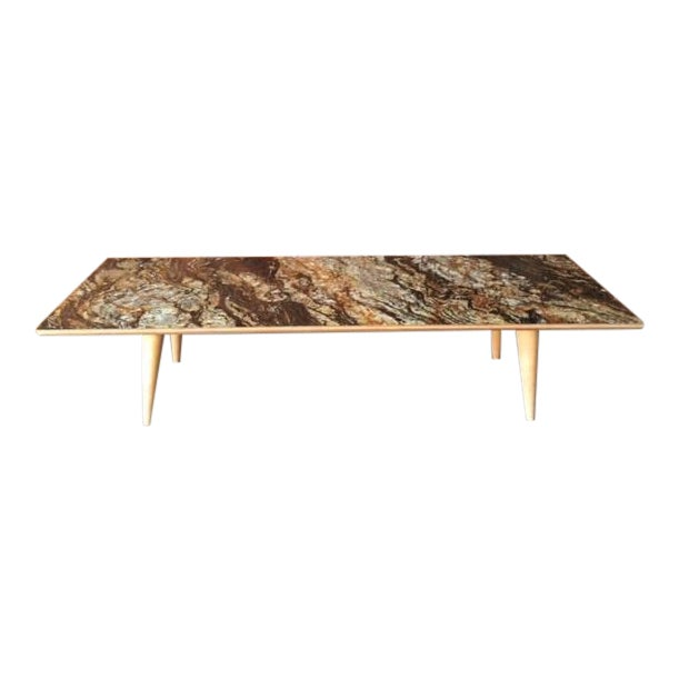 Contemporray Mid-Century Style Formica Coffee Table - Image 1 of 7