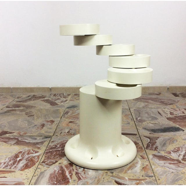Plastic 1970s Giancarlo Piretti for Anonima Castelli Umbrella Stand 'Pluvium' For Sale - Image 7 of 7