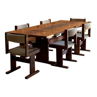 Gangso Mobler Rosewood Dining Set - 7 Pieces For Sale