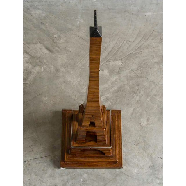 1930s Art Deco Period Grand Scale Eiffel Tower of Rosewood, France c.1930 For Sale - Image 5 of 7