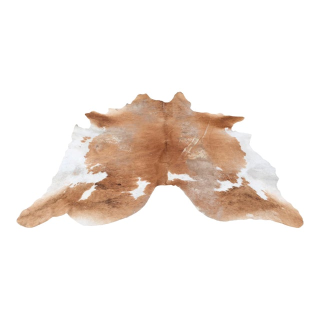 Authentic Country Style Cowhide Rug - 6' X 7' - Image 1 of 7