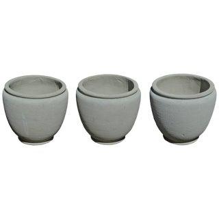 Round Concrete Urn Planters For Sale