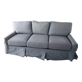 Lee Industries Slipcovered Sleeper Sofa For Sale