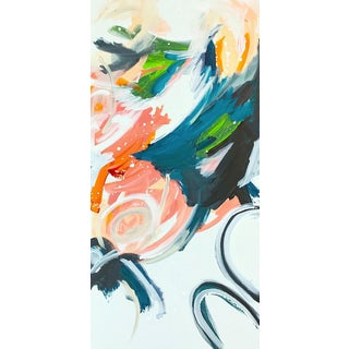 'WiSH You Were Here' Original Abstract Painting by Linnea Heide