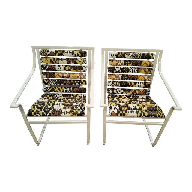 Samsonite Tubular Steel Patio Chairs - a Pair - Image 1 of 9