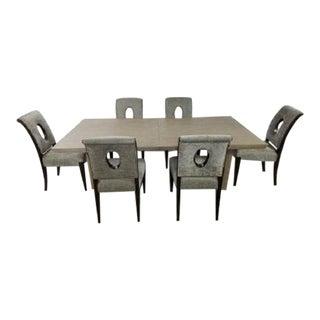 Mid-Century Modern Bernhardt Dining Set - 7 Pieces For Sale