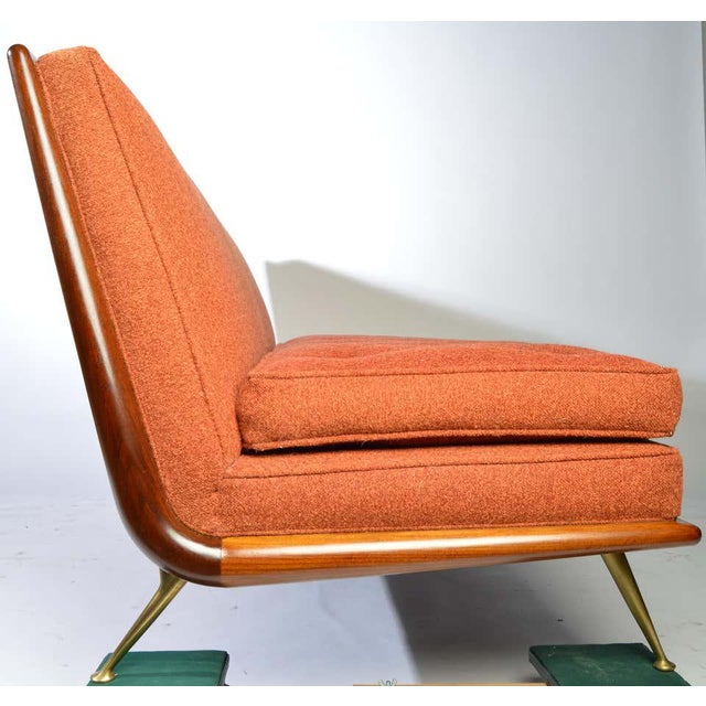 t.h. Robsjohn-Gibbings Sofa Model 1727 for Widdicomb Circa 1955 For Sale - Image 9 of 12