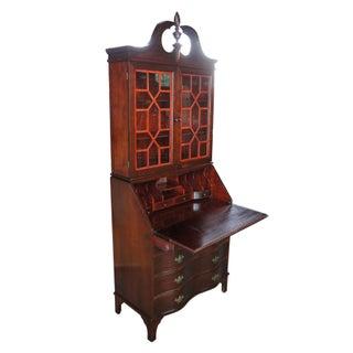 Antique Serpentine Walnut Cabinet Preview