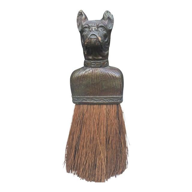 Vintage Bulldog Whisk Broom/Shoulder Brush - Image 1 of 10