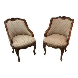 Antique French Side Chairs - A Pair For Sale