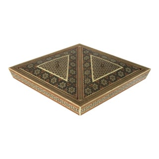 Khatam Kari Double Lidded Box