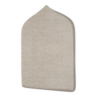 The Crown Headboard - Twin - Charlotte - Belgian Linen, Oatmeal For Sale