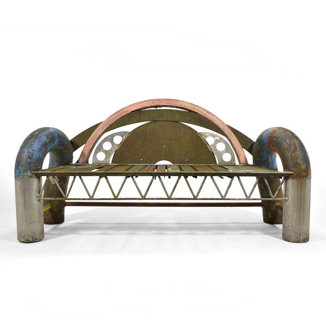 Gordon Chandler Bench Sculpture - Image 3 of 7