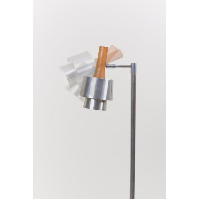 Silver Standard/ Reading Lamp by Jo Hammerborg for Fog & Mørup For Sale - Image 8 of 11