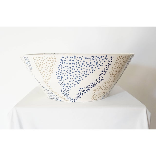 """Modern Roy Hamilton """"Faux Marble"""" Bowl, Circa 1980 For Sale - Image 3 of 9"""