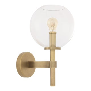 Brass Globe Wall Lamp | Eichholtz Jade For Sale