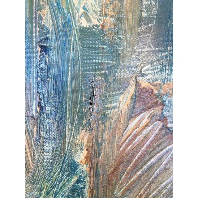 Still Life Palette Knife Oil Signed, Maassen For Sale - Image 9 of 10