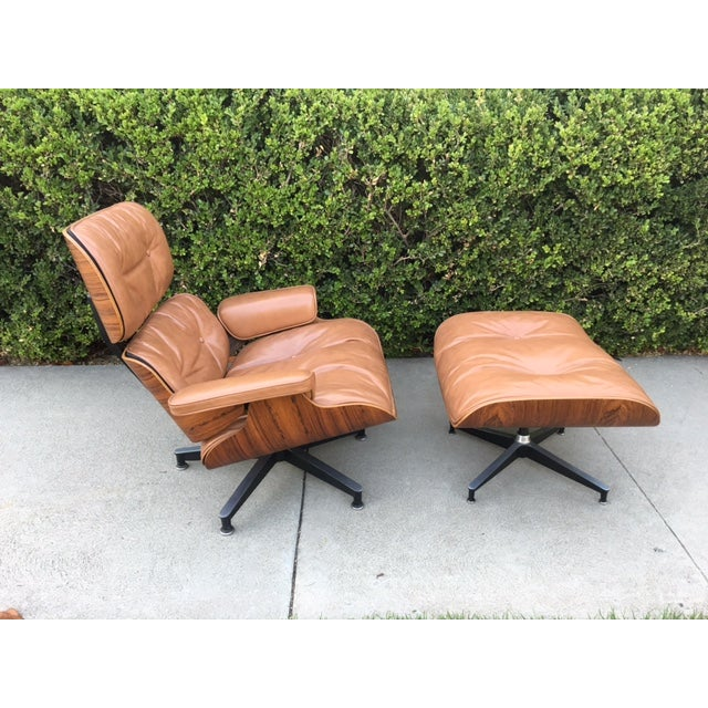 Eames Rosewood Lounge Chair & Ottoman - Image 4 of 8