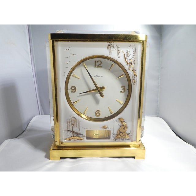 Jaeger Le Coultre Chinoiserie Marina Clock For Sale - Image 12 of 12