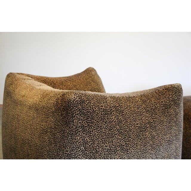 """1970s Mario Bellini """"Le Bambole"""" Chairs & Ottoman For Sale - Image 10 of 13"""