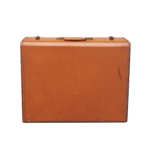 Vintage Samsonite Leather Suitcase - Image 1 of 5