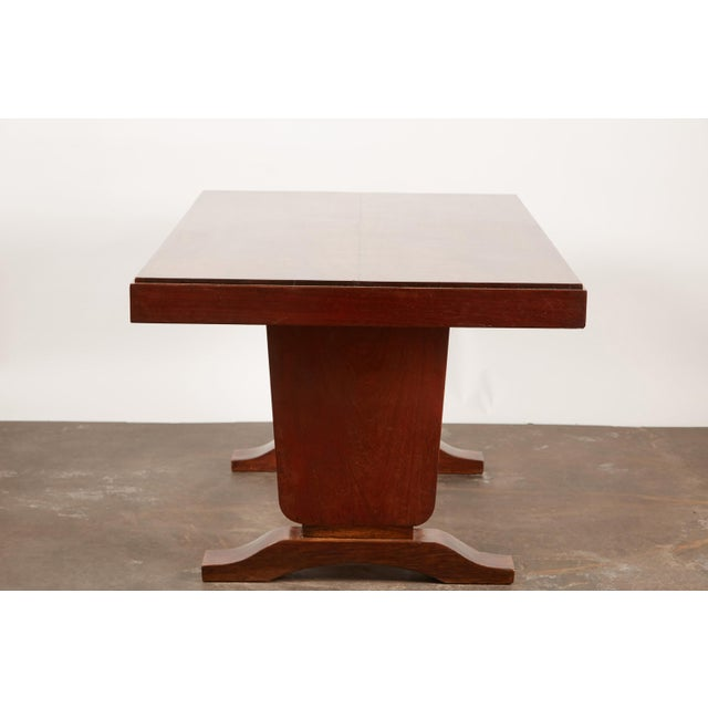 20th Century French Colonial Art Deco Rosewood Desk - Image 8 of 9