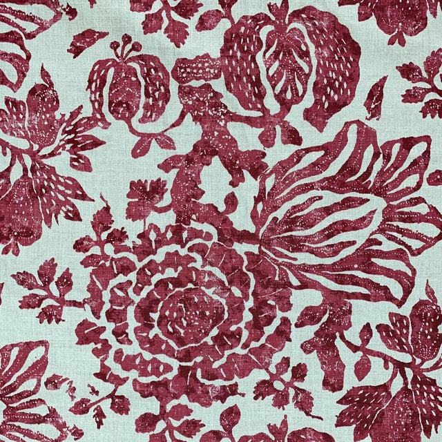 Carolina Irving Exotic Bloom Fabric For Sale