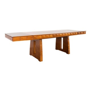 Paolo Buffa Walnut Dining Table For Sale