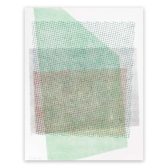 """Stephen Maine Stephen Maine """"Pitched Planes 135"""", Print For Sale - Image 4 of 4"""