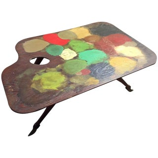 Painter's Table, France, Circa 1900 For Sale