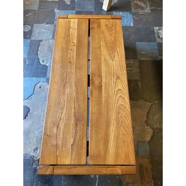 French 1950s French Coffee Table From Lyon For Sale - Image 3 of 13