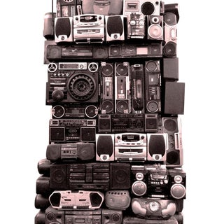 """Boom Box Fantasy"" Harlem New York City Boom Box Photograph For Sale"