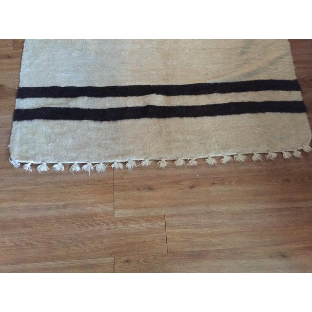 Navajo Style Wool Rug - 4′8″ × 6′9″ - Image 4 of 6