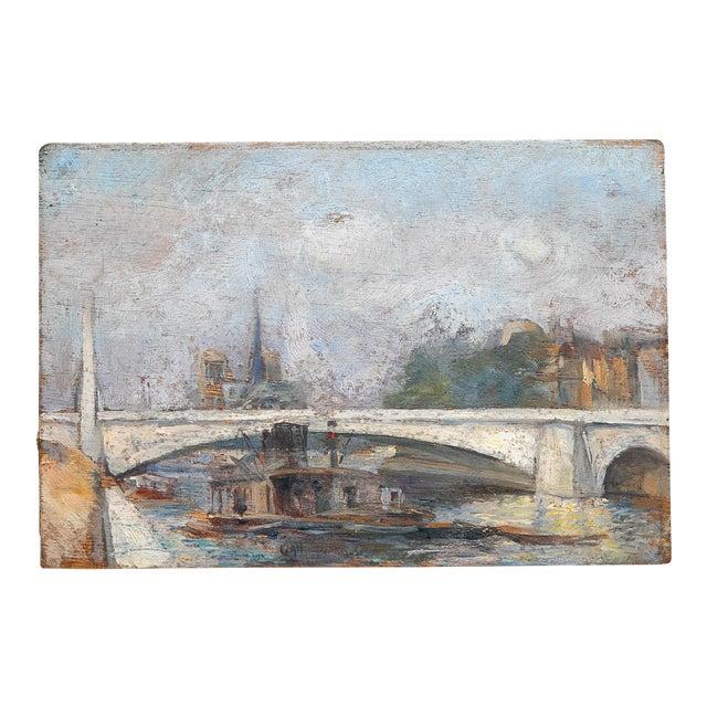 Small French Bookshelf Painting